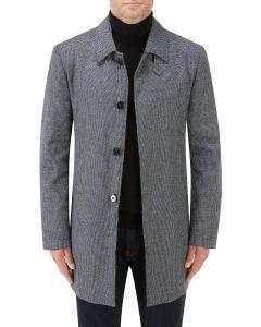 Kelston Overcoat Charcoal