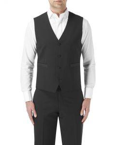 Latimer Dinner Suit Waistcoat Black