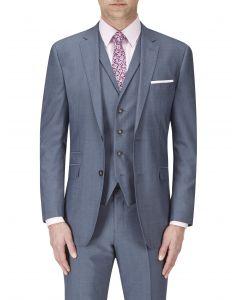 Egan Suit Jacket Ice Blue