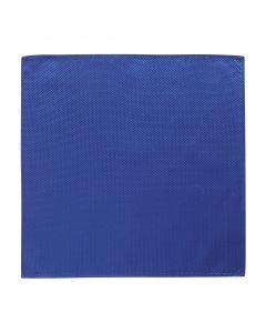 Royal Blue Textured Pocket Square