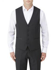 Barney Dinner Suit Waistcoat Black