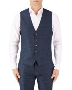 Santini Suit Waistcoat Navy