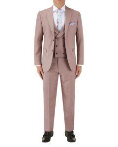 Sultano Slim Suit Mink