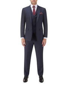 Whelan Suit Navy Check
