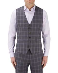 Tatum Suit Waistcoat Grey Check