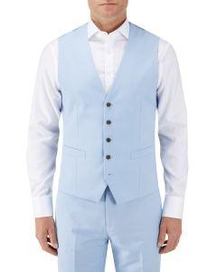 Sultano Suit SB Waistcoat Sky Blue