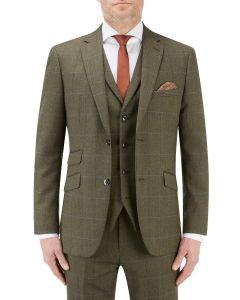 Bramwell Suit Jacket Lovat Check