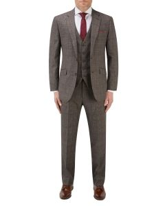 Havlin Suit Grey / Red Overcheck