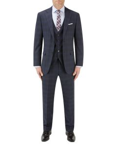 Piper Suit Navy Check