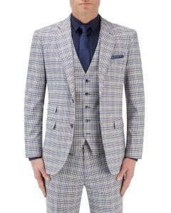 Sturridge Suit Jacket Navy / Cream Check