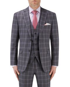 Tatum Suit Jacket Grey Check