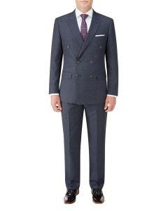 Staunton DB Suit Navy Check