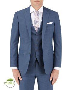 Morelli Suit Jacket Blue Check
