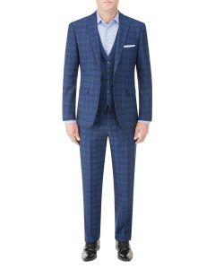 Felix Tailored Suit Blue Check