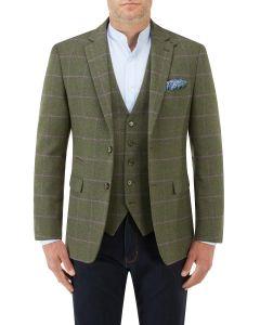 Crowley Jacket Olive Check