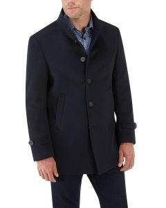 Ladbroke Overcoat Navy