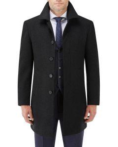 Aldgate Overcoat Black
