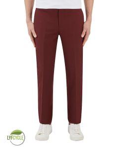 Sultano Suit Slim Trouser Brick Red