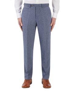 Jude Suit Tailored Trouser Blue Herringbone
