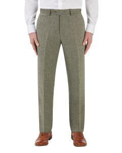 Jude Suit Tailored Trouser Sage Herringbone