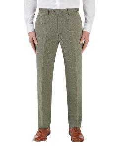 Jude Suit Tapered Trouser Sage Herringbone