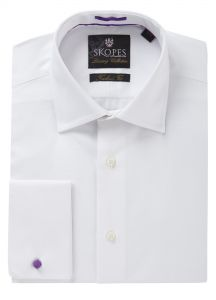 Luxury Tailored Fit Formal Shirt White