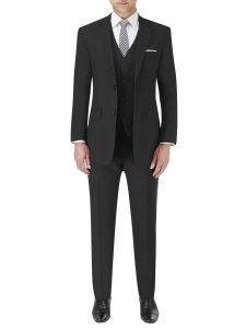 Darwin Tailored Suit Black