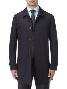 Ledbury Raincoat Navy