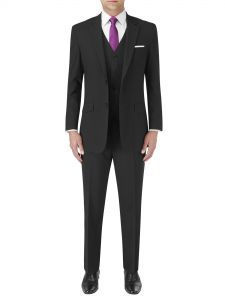 Darwin Tailored Suit Black Stripe