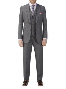 Warley Suit Grey Check