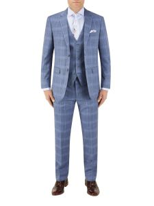 Kaye Suit Blue Check