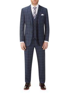 Minworth Suit Blue Check