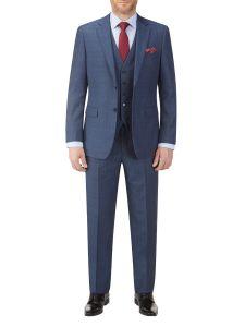 Sheldon Suit Blue Check
