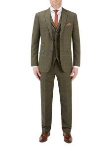 Bramwell Suit Lovat Check
