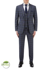 Suddard Suit Charcoal Check