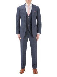 Anello Suit Blue Check