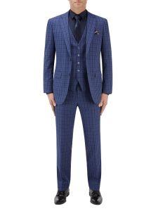 Tucci Suit Blue Check
