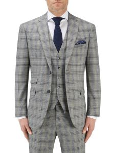 Sommer Suit Jacket Grey Check