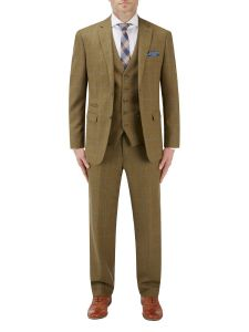 Bailey Suit Lovat with Blue Check