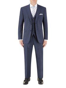 Persico Suit Navy Micro Check