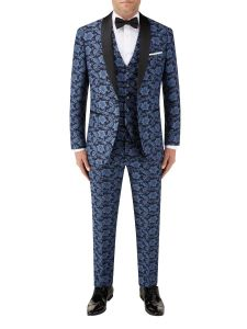 Morrissey Tailored Suit Navy