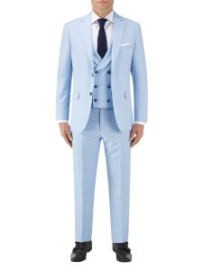 Sultano Slim Suit Sky Blue
