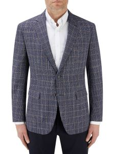 Mayfield Jacket Blue Check