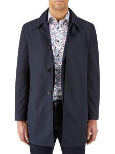Hetton Raincoat Navy