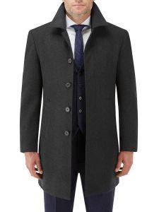 Aldgate Overcoat Charcoal