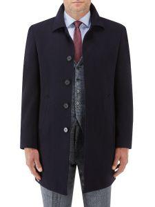 Aldgate Overcoat Navy