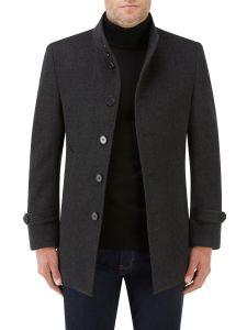 Ladbroke Overcoat Charcoal