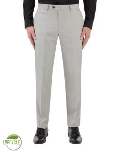 Sultano Suit Slim Trouser Silver