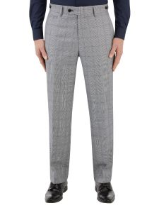 Anello Suit Tailored Trouser Grey Check
