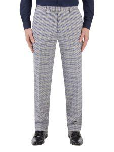 Sturridge Suit Tailored Trouser Navy / Cream Check